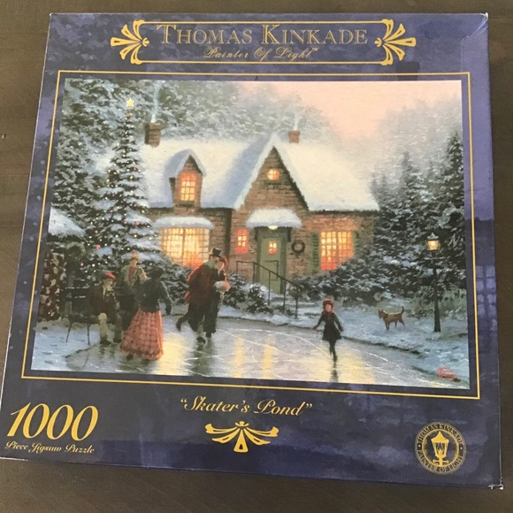 Thomas Kinkade Other - Thomas Kinkade 1000 Piece Puzzle